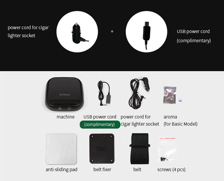 GEMEGA CAR AIR PURIFIER - accessories