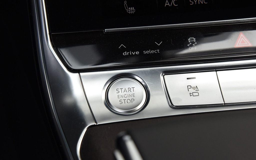 engine start button
