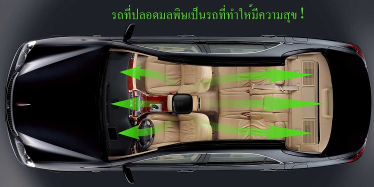 เครื่องฟอกอากาศในรถ