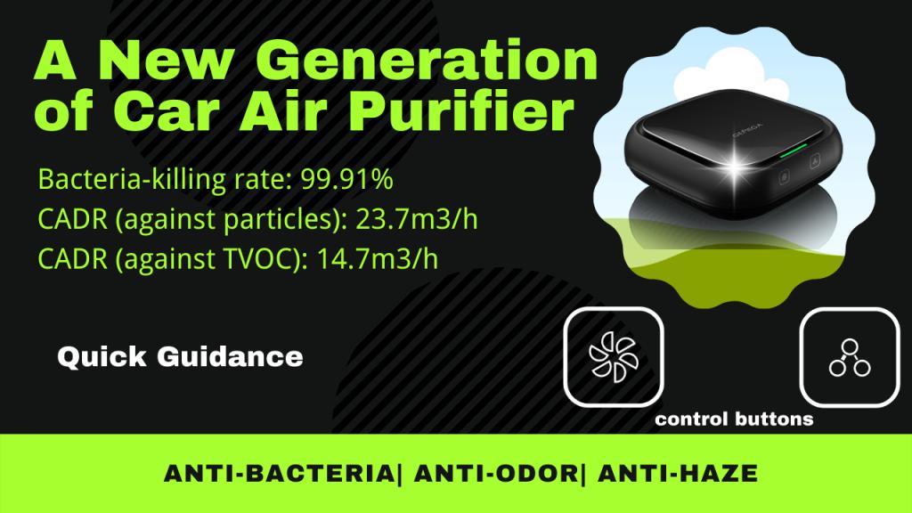 technical data of GEMEGA air purifier